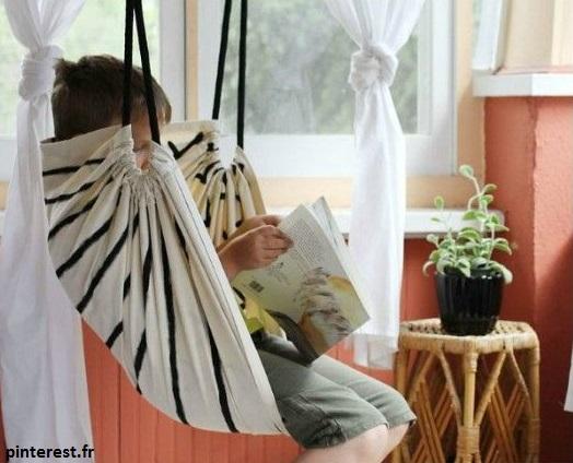 balançoire enfant pour décorer sa chambre
