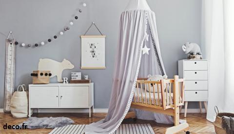 la première chose à avoir quand on décore la chambre d'un enfant est le berceau