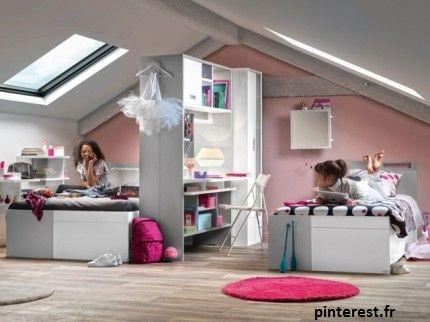 maximiser l'espace est une des idées déco pour la chambre de vos enfants