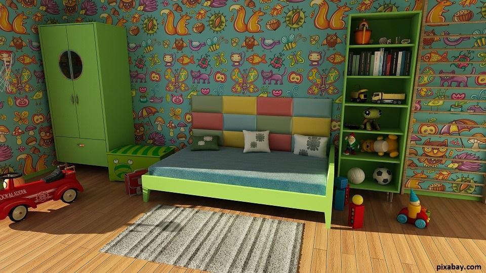 chambre d'enfant doit être la plus épurée possible pour permettre à votre enfant de jouer