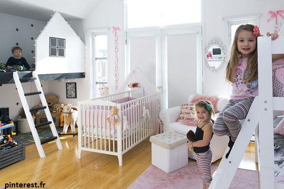 Pour que chaque enfant acquiert sa propre autonomie, il est important que chacun ait sa propre chambre