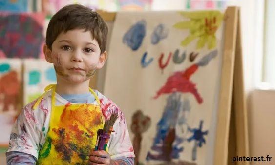 La chambre est le lieu où votre enfant peut laisser place à sa créativité
