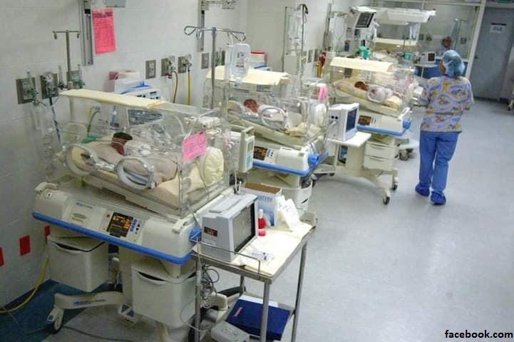 les neuf bébés qui ont vu le jour au Maroc sous surveillance dans le service neonat de la clinique à Casablanca