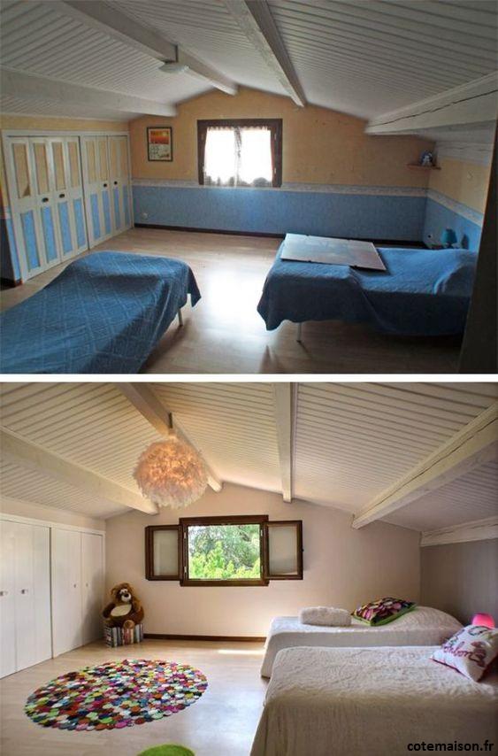 Home staging dans une chambre d'enfant, pour une déco à petit prix