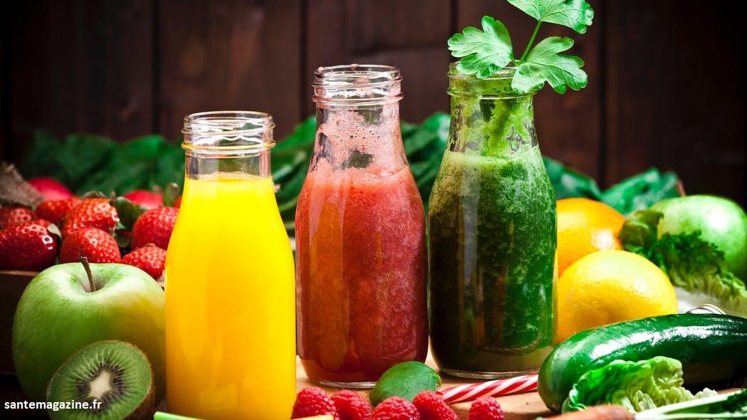 Les jus de fruits contiennent plusieurs vitamines et minéraux essentiels qu'il faut manger l'été