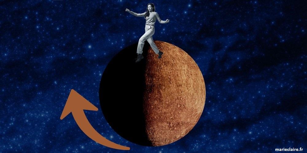 Mercure rétrograde affecte notre énergie. On aura tendance à être plus lunatiques et sensibles.