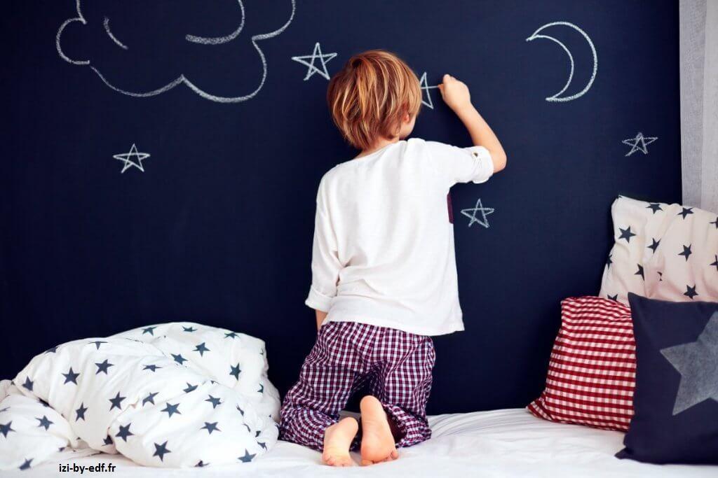 la peinture de la chambre de votre enfant doit être choisi minutieusement