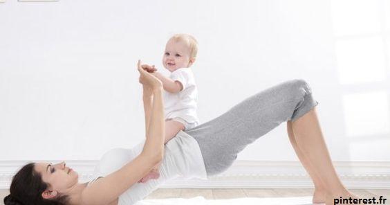 Le pilate est un très bon sport pour reprendre une activité physique en douceur après un accouchement