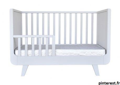 Il est impératif de protéger le lit de la chambre de votre enfant